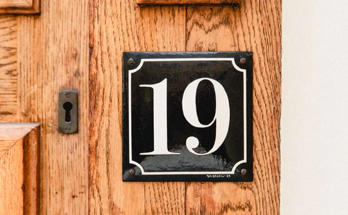 House Numbers gift