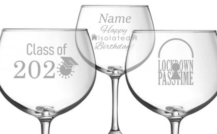 COVID-19 Charity Glasses gift
